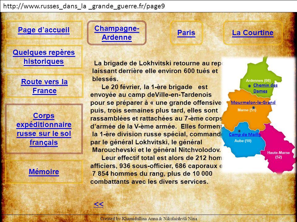 << http://www.russes_dans_la _grande_guerre.fr/page10