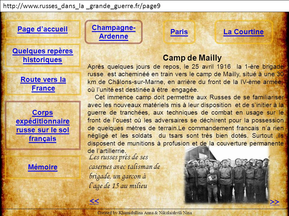 http://www.russes_dans_la _grande_guerre.fr/page9