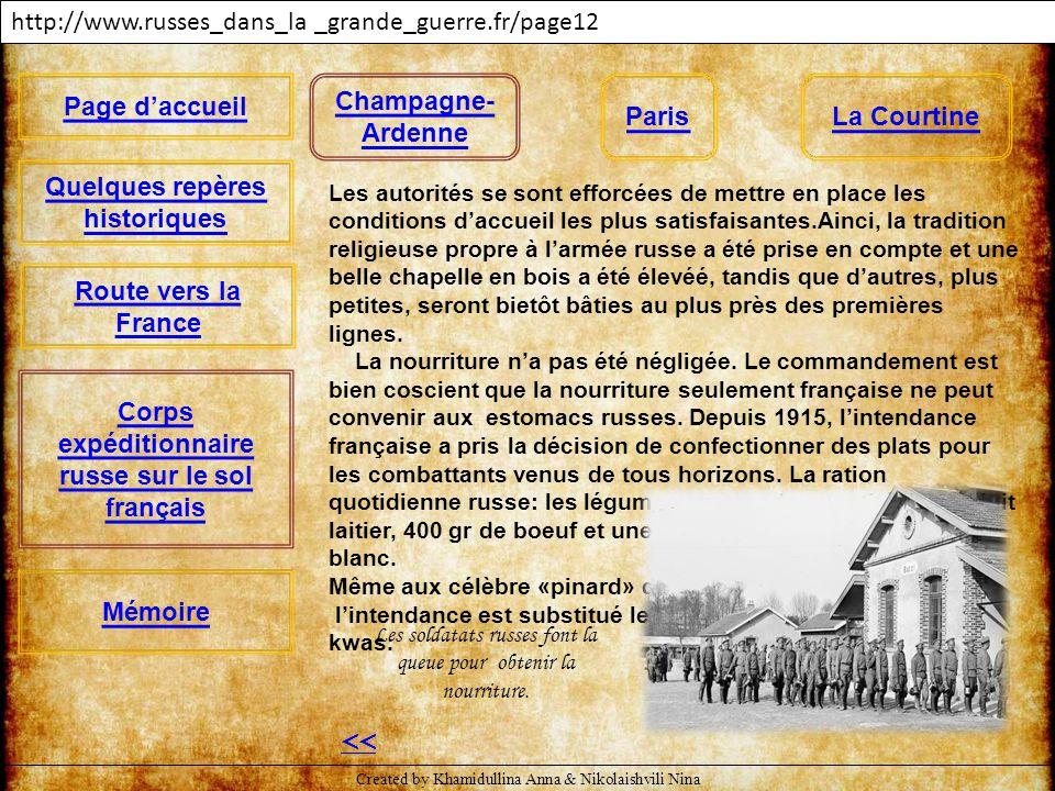 << http://www.russes_dans_la _grande_guerre.fr/page12