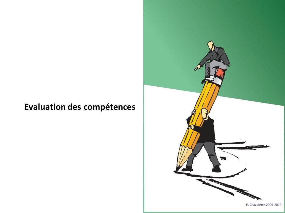 Evaluation des compétences