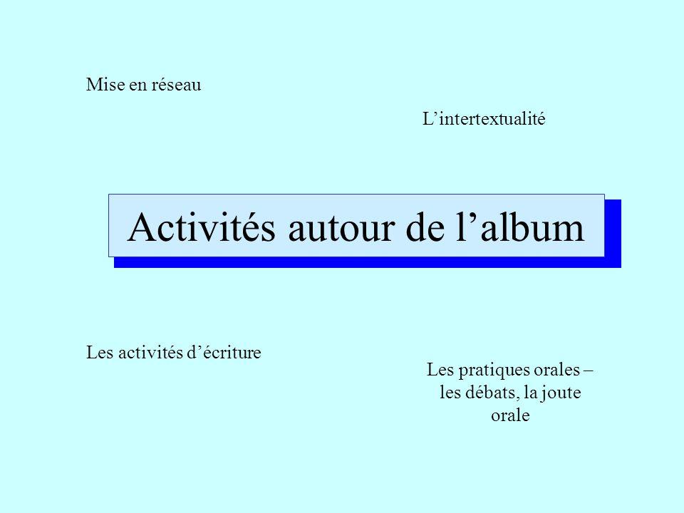 Activités autour de l'album