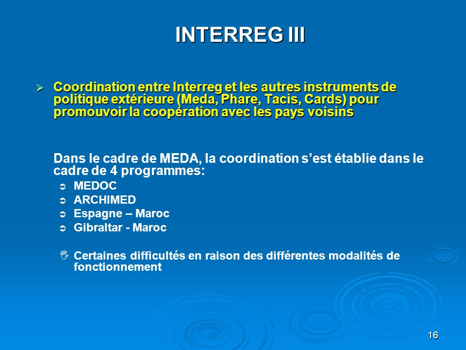 INTERREG III