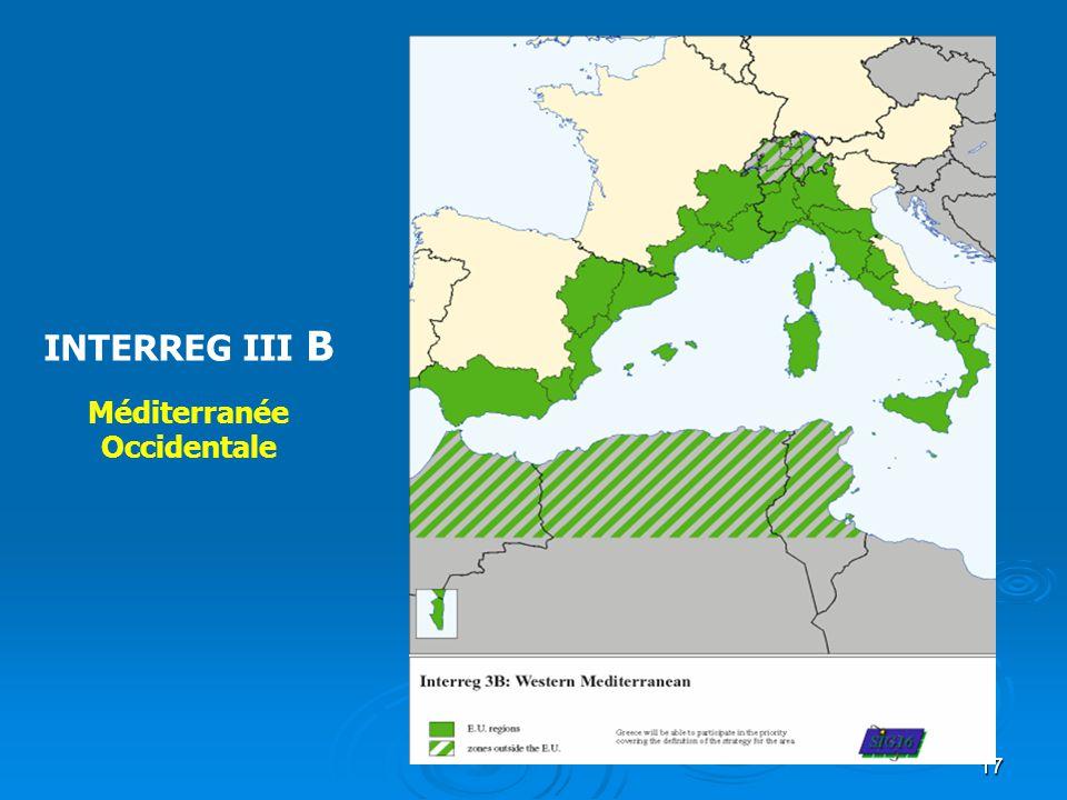 INTERREG III B Méditerranée