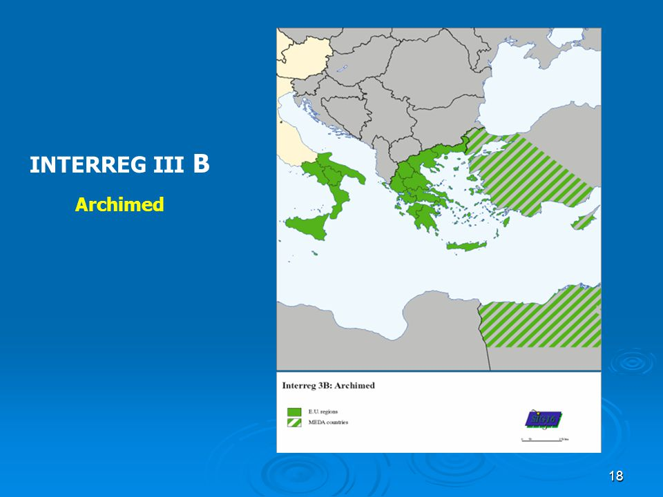 INTERREG III B Archimed