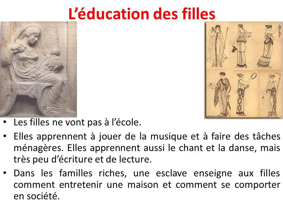 L'éducation des filles