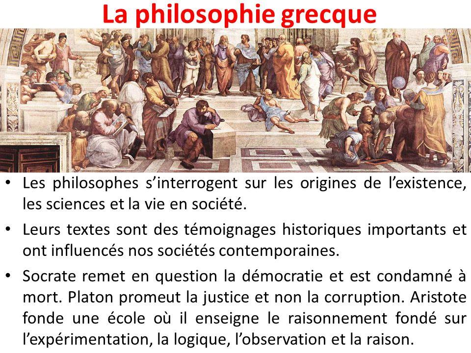 La philosophie grecque