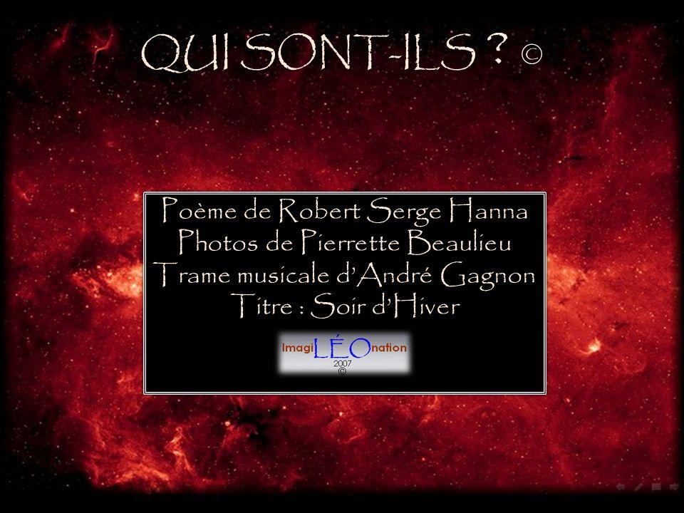 QUI SONT-ILS © Poème de Robert Serge Hanna