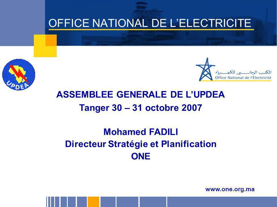 OFFICE NATIONAL DE L'ELECTRICITE