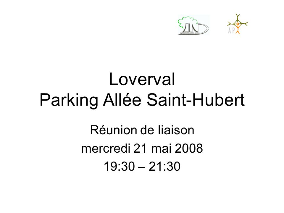 Loverval Parking Allée Saint-Hubert