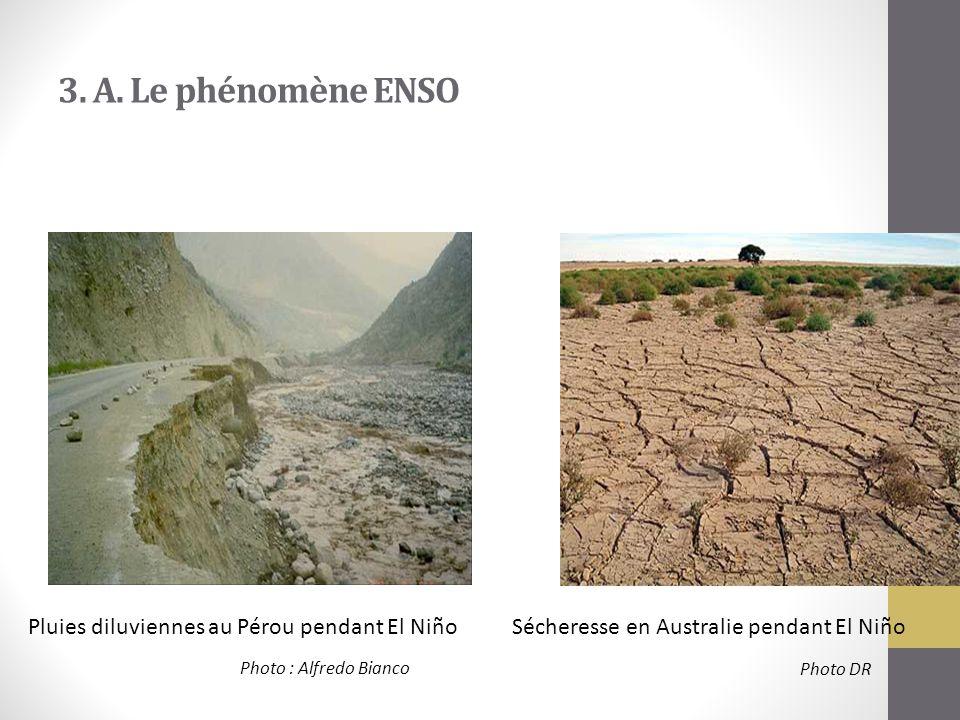 3. A. Le phénomène ENSO Pluies diluviennes au Pérou pendant El Niño