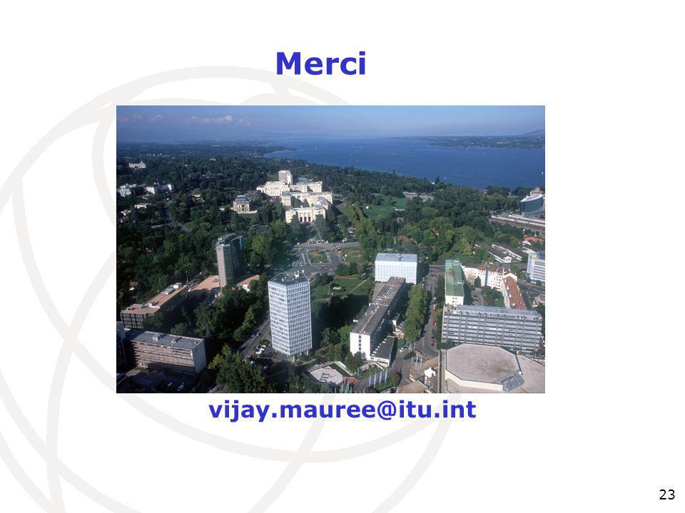 Merci vijay.mauree@itu.int