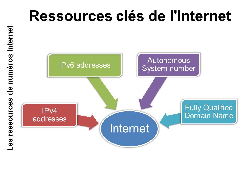 Ressources clés de l Internet