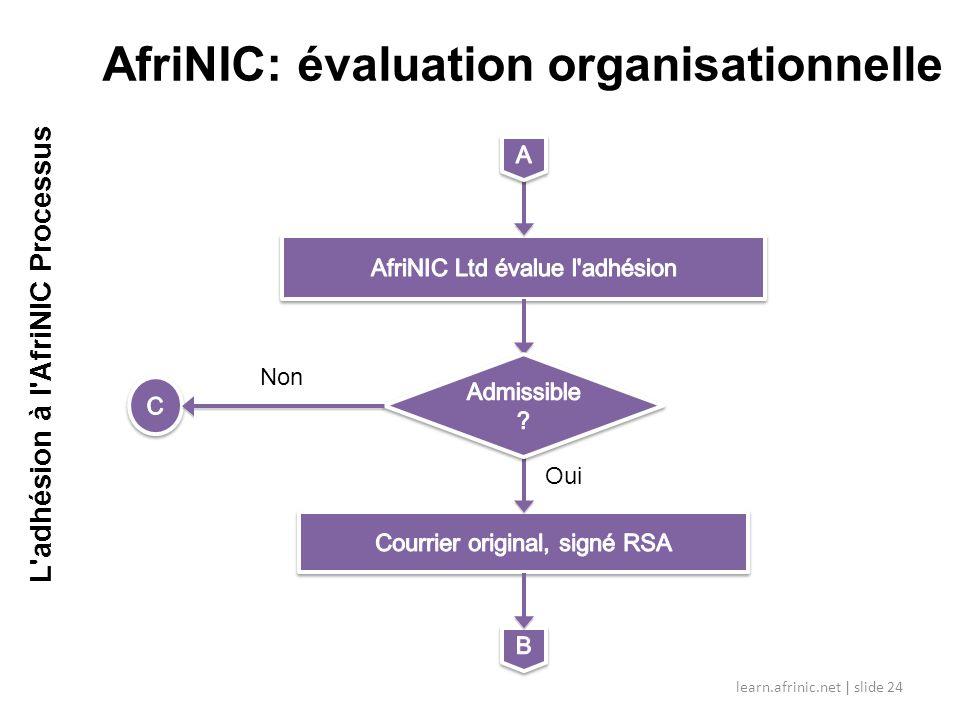AfriNIC: évaluation organisationnelle