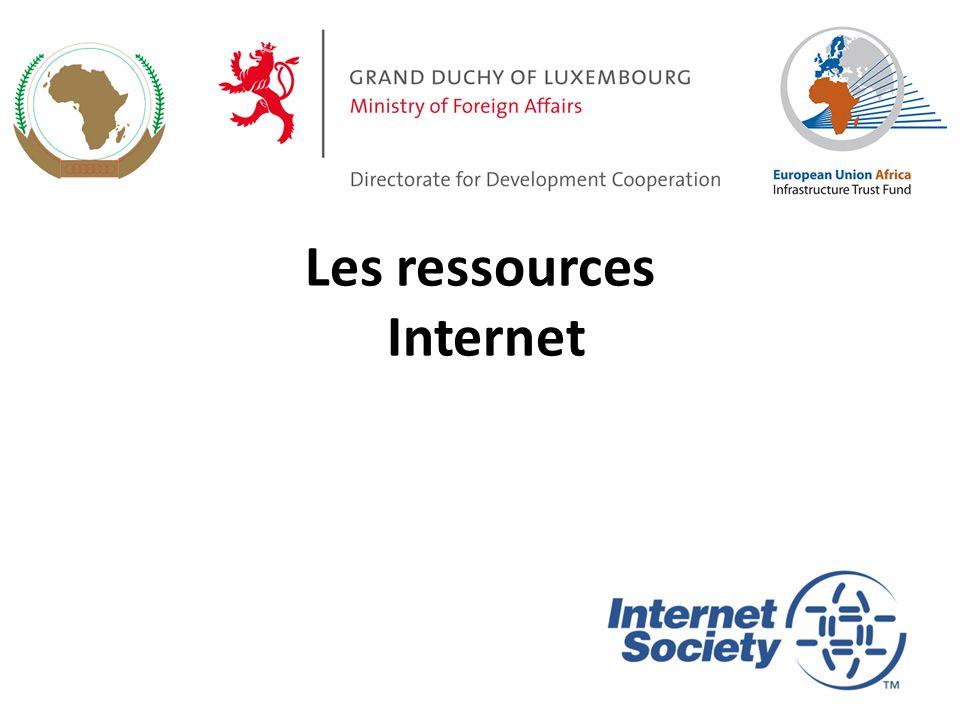 Les ressources Internet