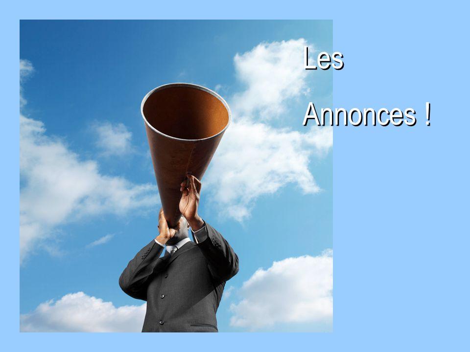 Les Annonces ! 38