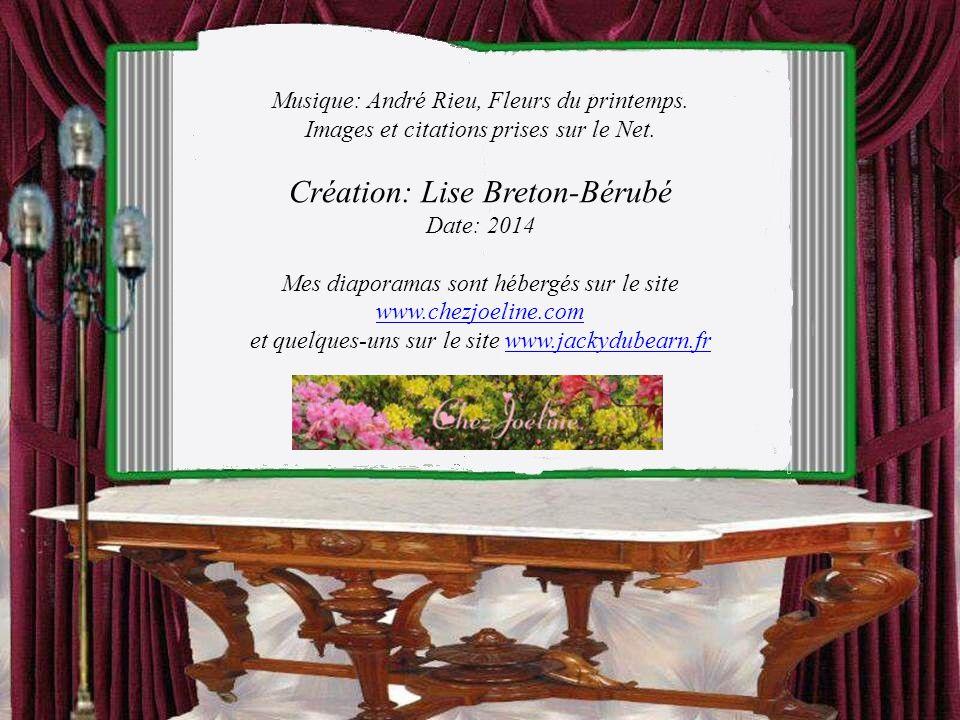 Création: Lise Breton-Bérubé