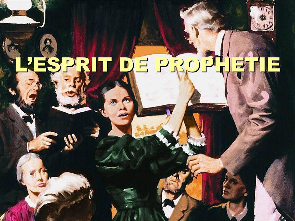 L'ESPRIT DE PROPHETIE