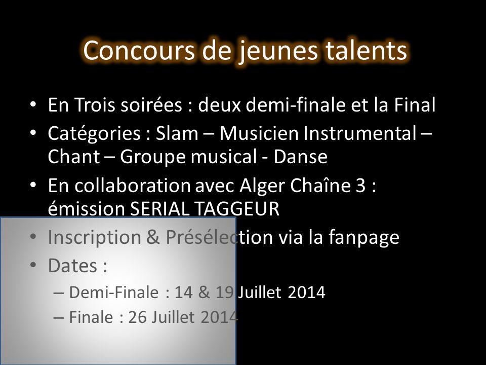 Concours de jeunes talents