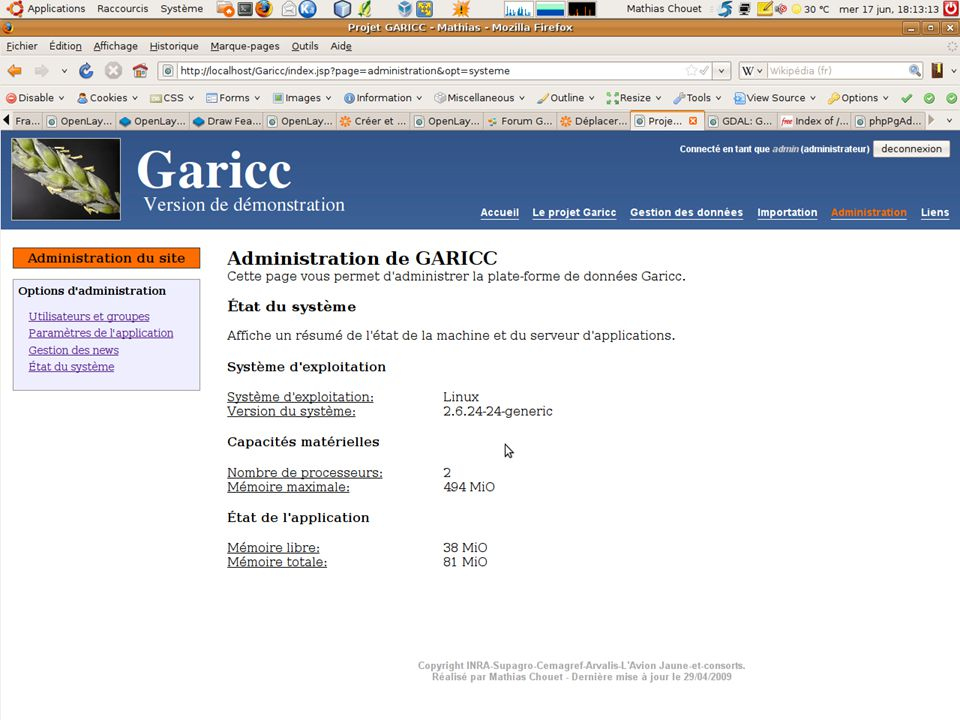 Mathias Chouet (INRA Montpellier) - Garicc
