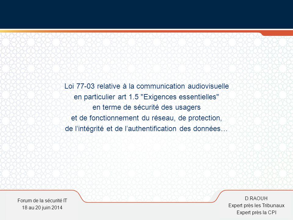 Loi 77-03 relative à la communication audiovisuelle
