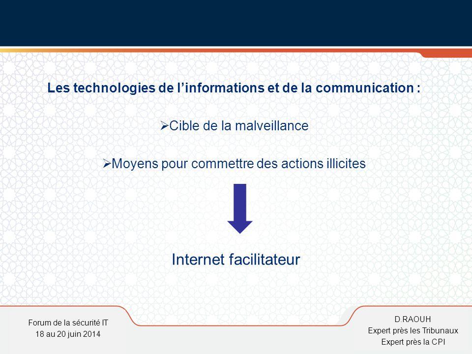 Les technologies de l'informations et de la communication :