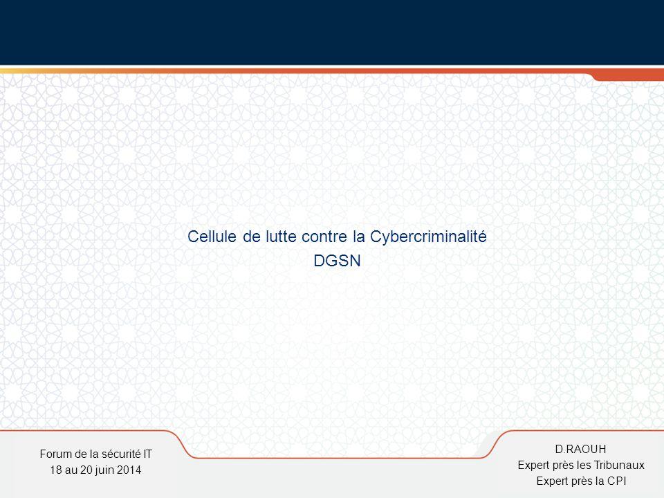 Cellule de lutte contre la Cybercriminalité DGSN