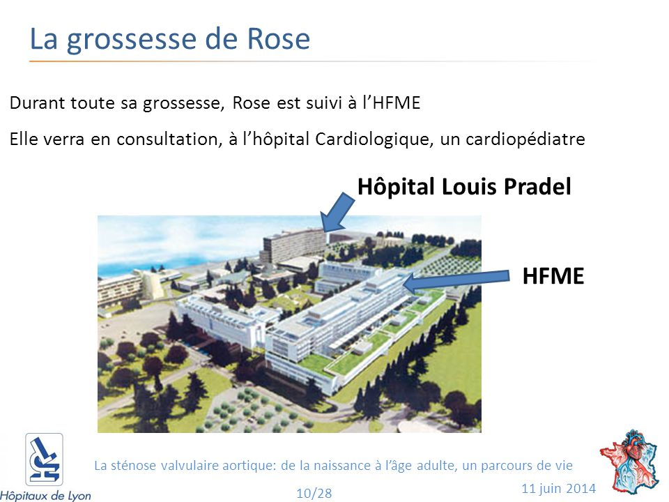 La grossesse de Rose Hôpital Louis Pradel HFME