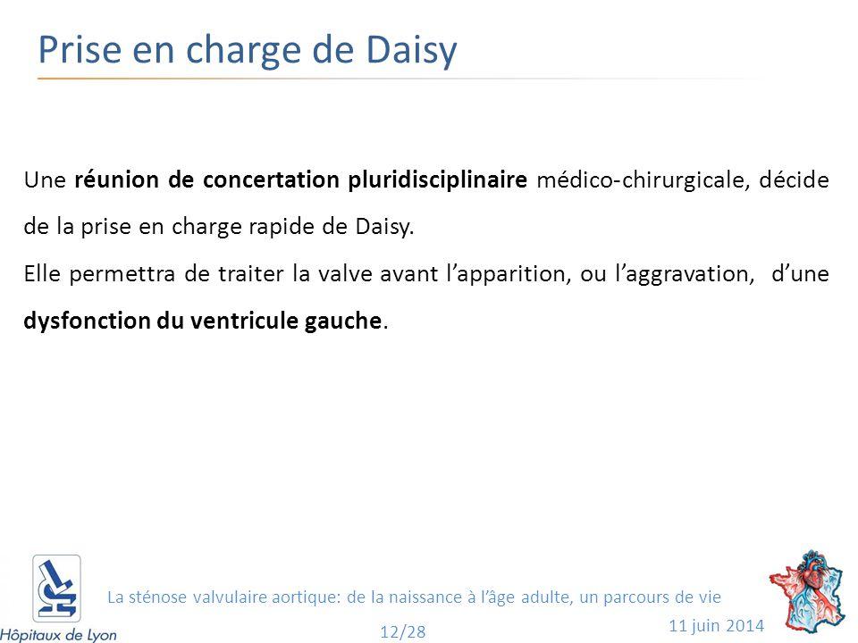 Prise en charge de Daisy