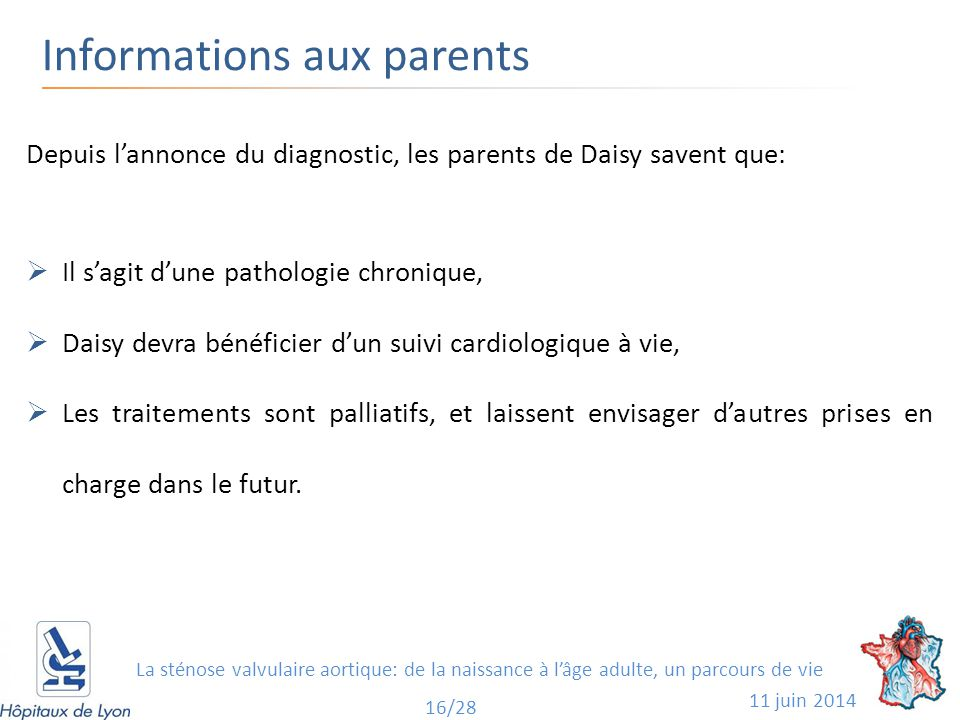 Informations aux parents