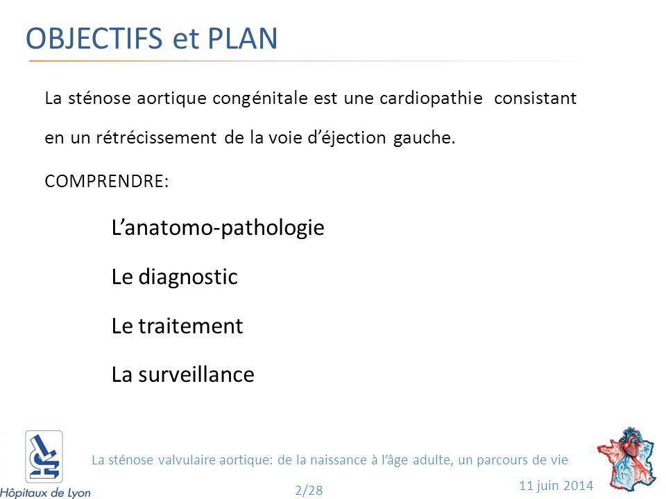 OBJECTIFS et PLAN L'anatomo-pathologie Le diagnostic Le traitement