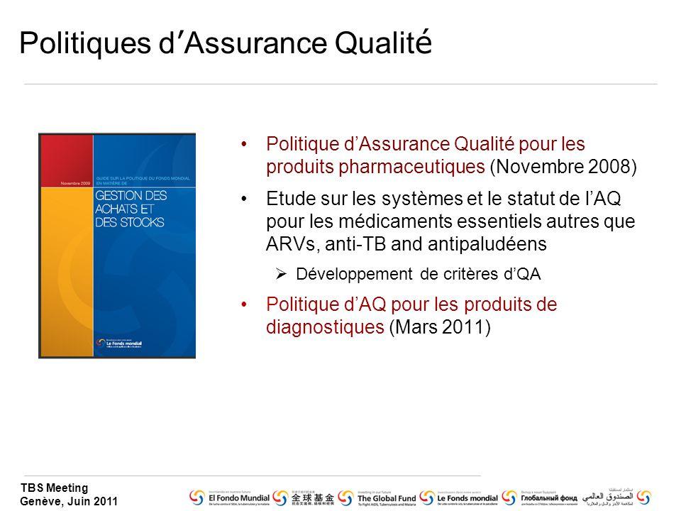 Politiques d'Assurance Qualité