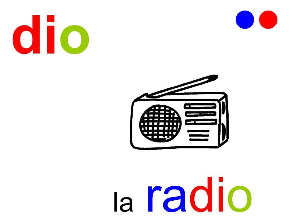 dio   la radio