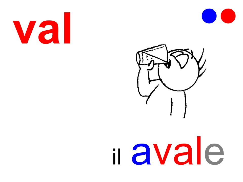 val   il avale