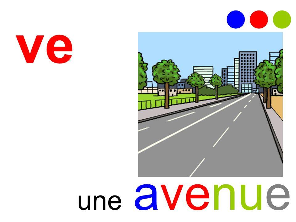    ve une avenue