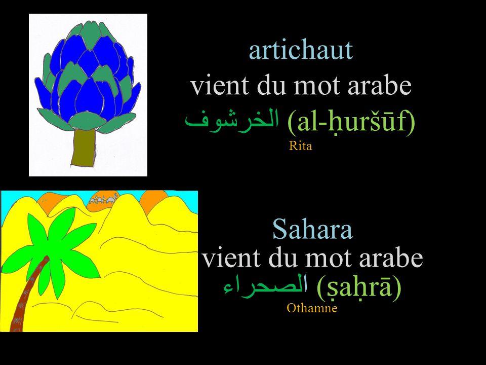 Les mots de la langue fran aise d tymologie arabe ppt for Etymologie du mot miroir