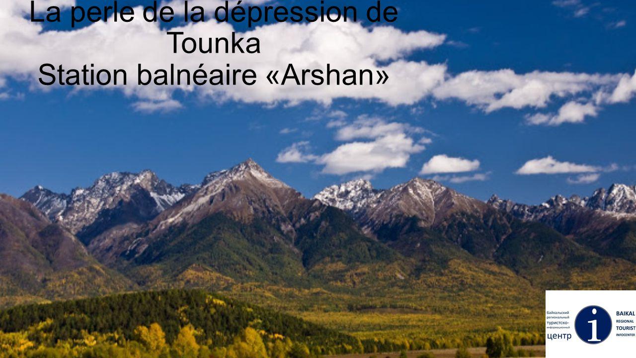 La perle de la dépression de Tounka Station balnéaire «Arshan»