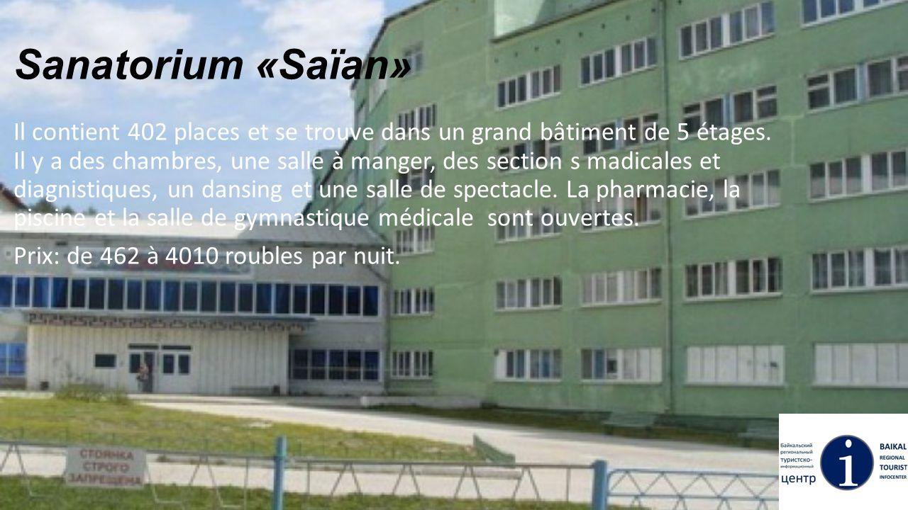Sanatorium «Saïan»
