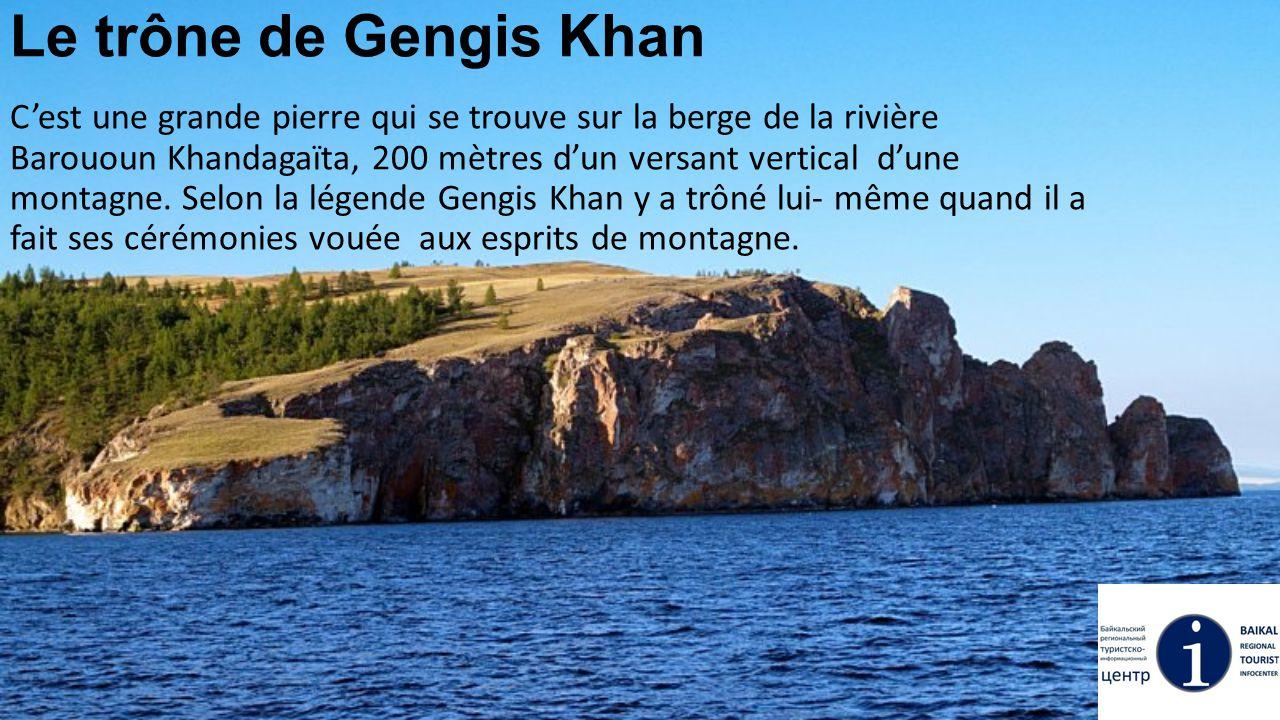 Le trône de Gengis Khan