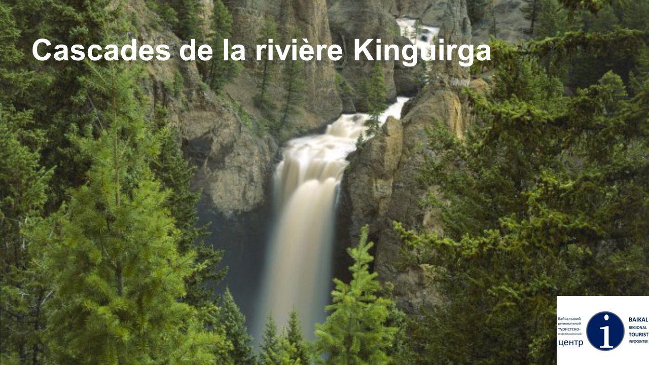 Сascades de la rivière Kinguirga