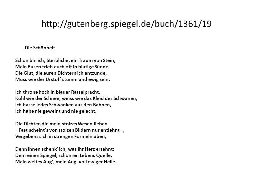 http://gutenberg.spiegel.de/buch/1361/19 Die Schönheit