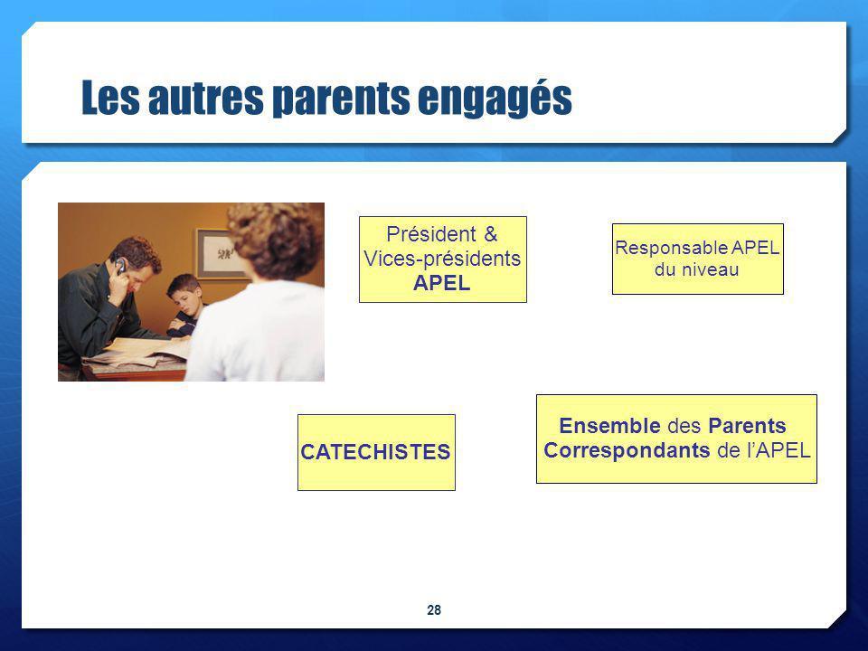 Les autres parents engagés
