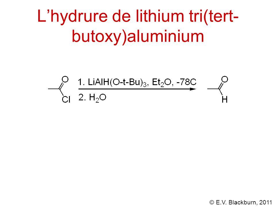 L'hydrure de lithium tri(tert-butoxy)aluminium