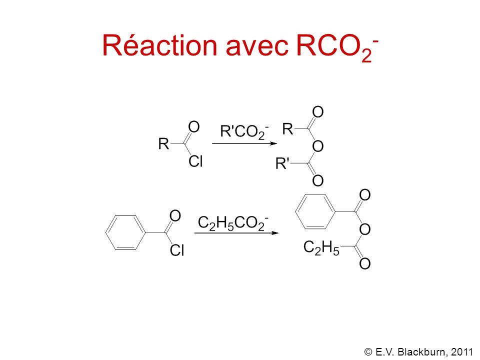 Réaction avec RCO2-