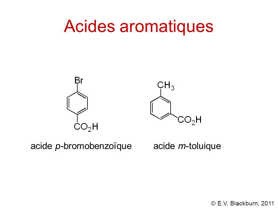 Acides aromatiques acide p-bromobenzoïque acide m-toluique