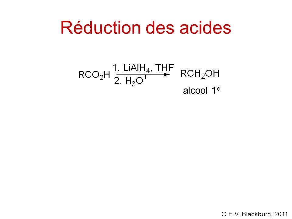 Réduction des acides alcool 1o