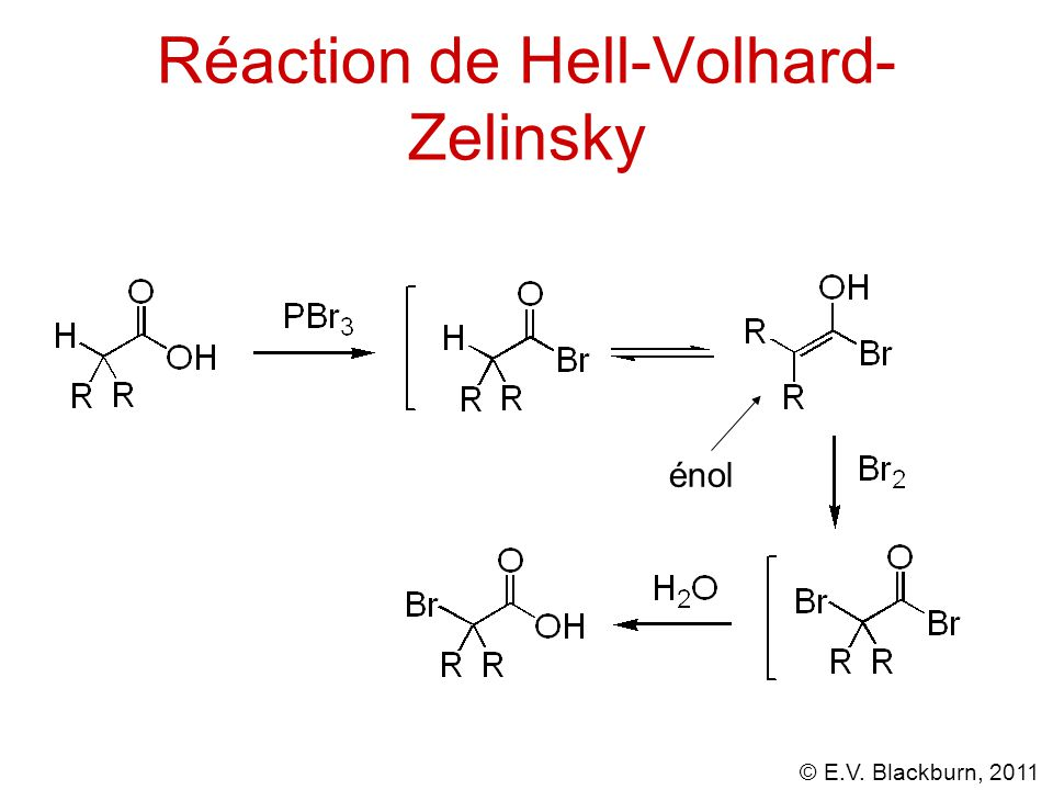 Réaction de Hell-Volhard-Zelinsky