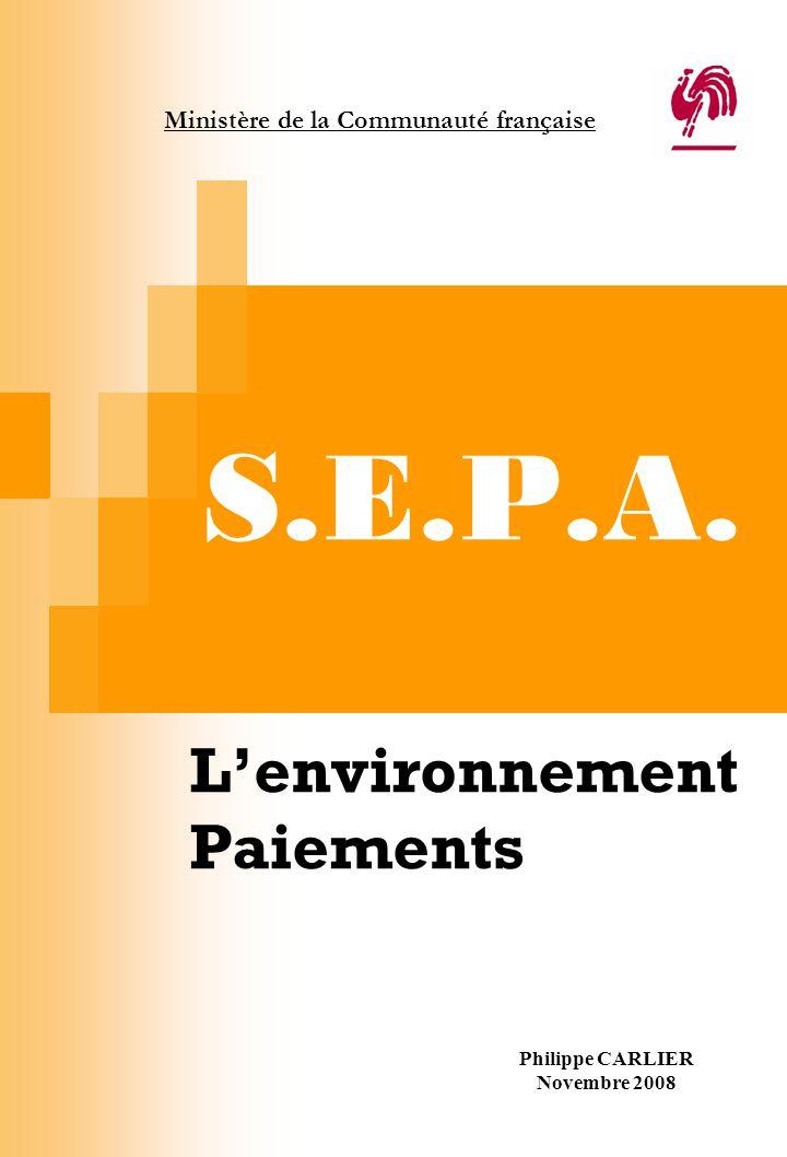 L'environnement Paiements