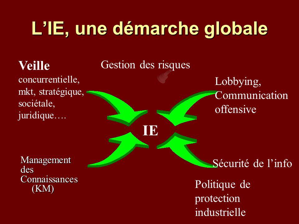 L'IE, une démarche globale
