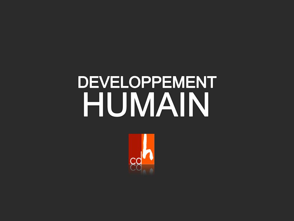 DEVELOPPEMENT HUMAIN
