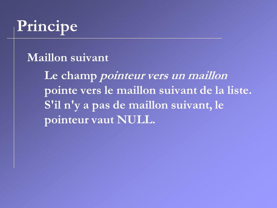 Principe Maillon suivant